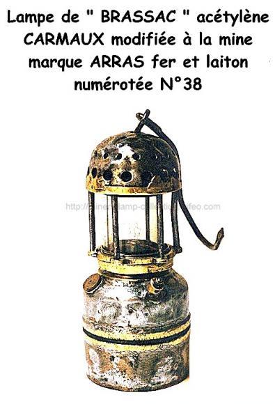 Lampe Acétylène de Brassac