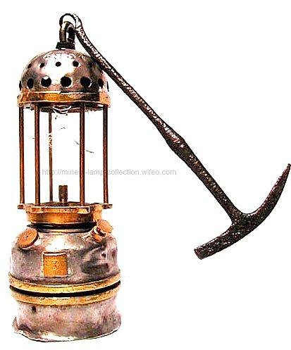 Lampe Acétylène de Carmaux