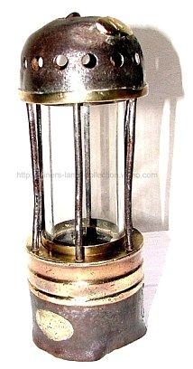 Lampe Acétylène de Carmaux Prototype
